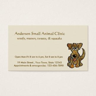Veterinário Cartão De Visita