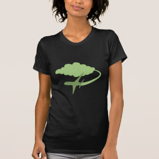 Viagem aérea camisetas