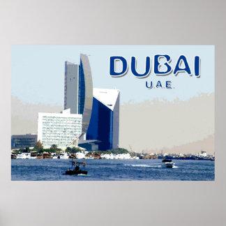 Viagem Dubai Pôster