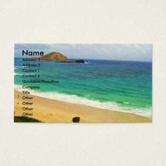Viagem e cartão de visita do turismo