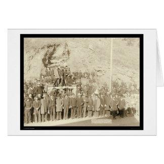 Viagem final do treinador SD 1890 da palha Cartão