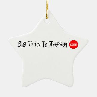 Viagem grande ao ornamento da estrela de Japão