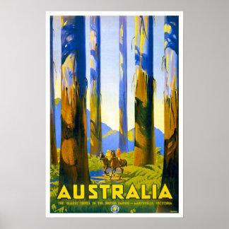 Viagens vintage, Austrália Pôsteres