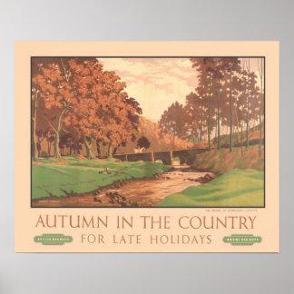 Viagens vintage, Exmoor Posters