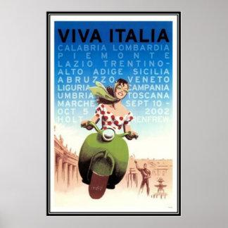Viagens vintage Italia - Pôster
