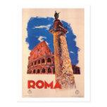 Viagens vintage Italia, Roma - Cartões Postais