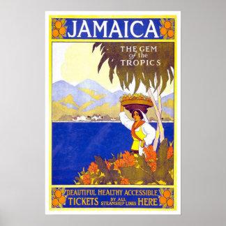 Viagens vintage, Jamaica Poster