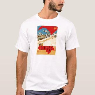 Viagens vintage Odessa Ucrânia União Soviética Tshirts