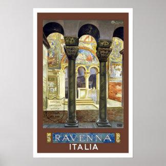 Viagens vintage, Ravenna, Italia Impressão