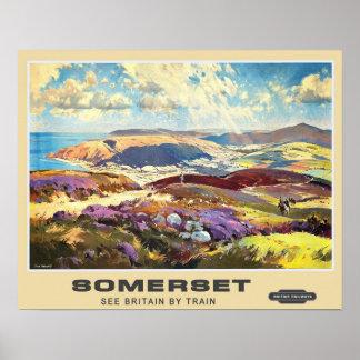 Viagens vintage, Somerset Posters