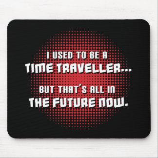Viajante do tempo mouse pad