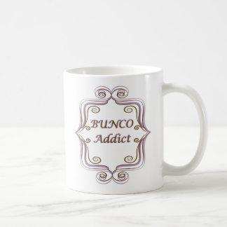 Viciado de Bunco Caneca De Café