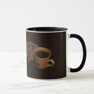 Viciado do café caneca