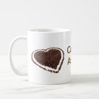 Viciado do café caneca de café