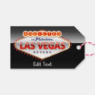 Viciado sinal engraçado de Las Vegas, Nevada