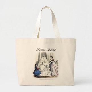 Victorian que Wedding Tote_Bag Sacola Tote Jumbo