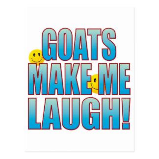 Vida B do riso das cabras Cartão Postal