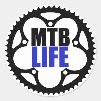 Vida do Mountain bike Adesivo