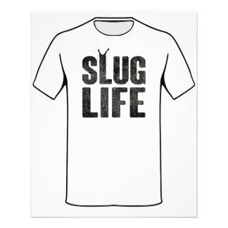 Vida do vândalo da vida do Slug Panfleto Personalizado