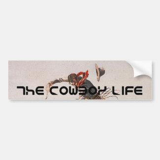 Vida do vaqueiro do T Adesivo Para Carro