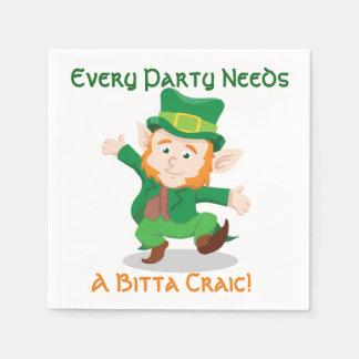 """""""Vida guardanapo de papel irlandeses do partido do"""