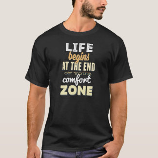 Vida! T-shirt inspirado da tipografia do vintage