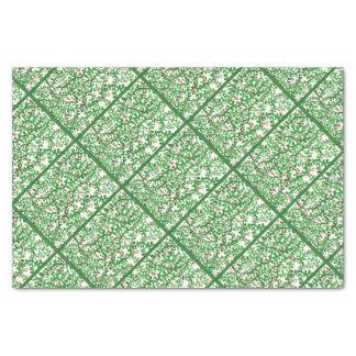Videiras do feriado papel de seda