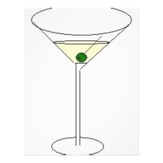 Vidro de Martini Flyer 21.59 X 27.94cm