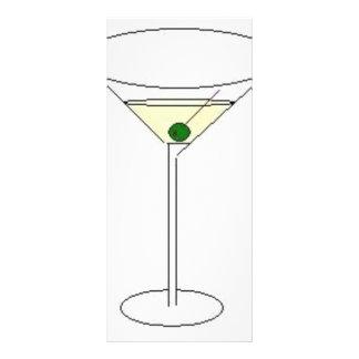 Vidro de Martini Panfleto Informativo