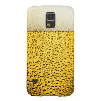 Vidro legal engraçado da cerveja capa para galaxy s5