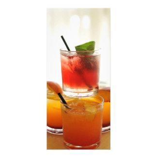 Vidros de cocktail 10.16 x 22.86cm panfleto