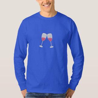 vidros do champanhe tshirt