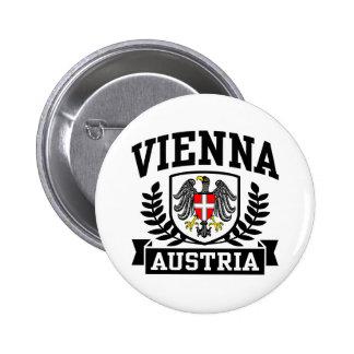 Viena Áustria Bóton Redondo 5.08cm