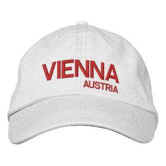 Viena, boné de beisebol do branco de Austrai*