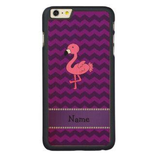 Vigas cor-de-rosa conhecidas personalizadas do capa para iPhone 6 plus de carvalho, carved®