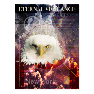 Vigilância eterno cartão postal