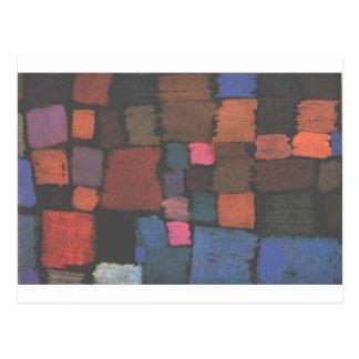 Vinda florescer por Paul Klee Cartão Postal