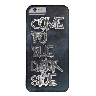 Vindo ao lado escuro capa barely there para iPhone 6