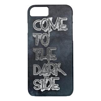 Vindo ao lado escuro capa iPhone 7