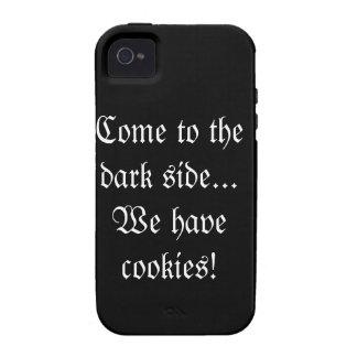 Vindo ao lado escuro… nós temos biscoitos!