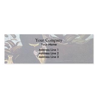 Vinho de derramamento de Sarkis por Niko Pirosmani Modelos Cartões De Visita