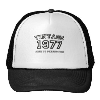 Vintage 1977 boné