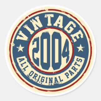 Vintage 2004 todas as peças do original adesivo