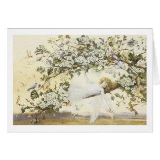 Vintage Ariel feericamente 1858 Cartão Comemorativo