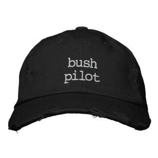 Vintage baseball Cap Bush piloto Boné Bordado