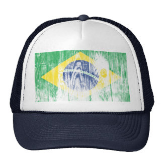 Vintage Brazilien bandeira Nacional Cap Boné