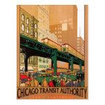 Vintage Chicago, EUA - Cartões Postais