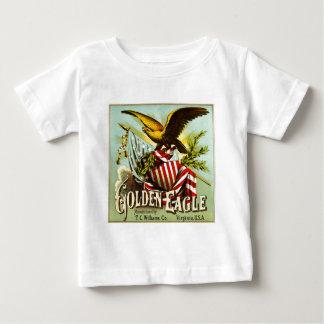 Vintage da etiqueta do tabaco de mastigação de t-shirt