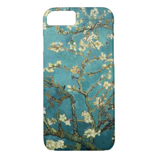 Vintage de florescência da árvore de amêndoa de capa iPhone 7