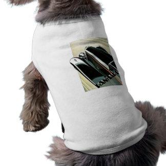 Vintage do automóvel de Panhard Camisa Sem Mangas Para Cachorro
